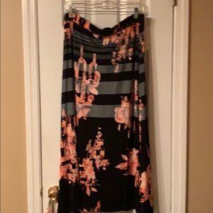 NEW avenue maxi skirt